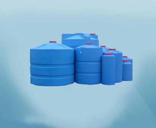 Пластиковые цилиндрические емкости